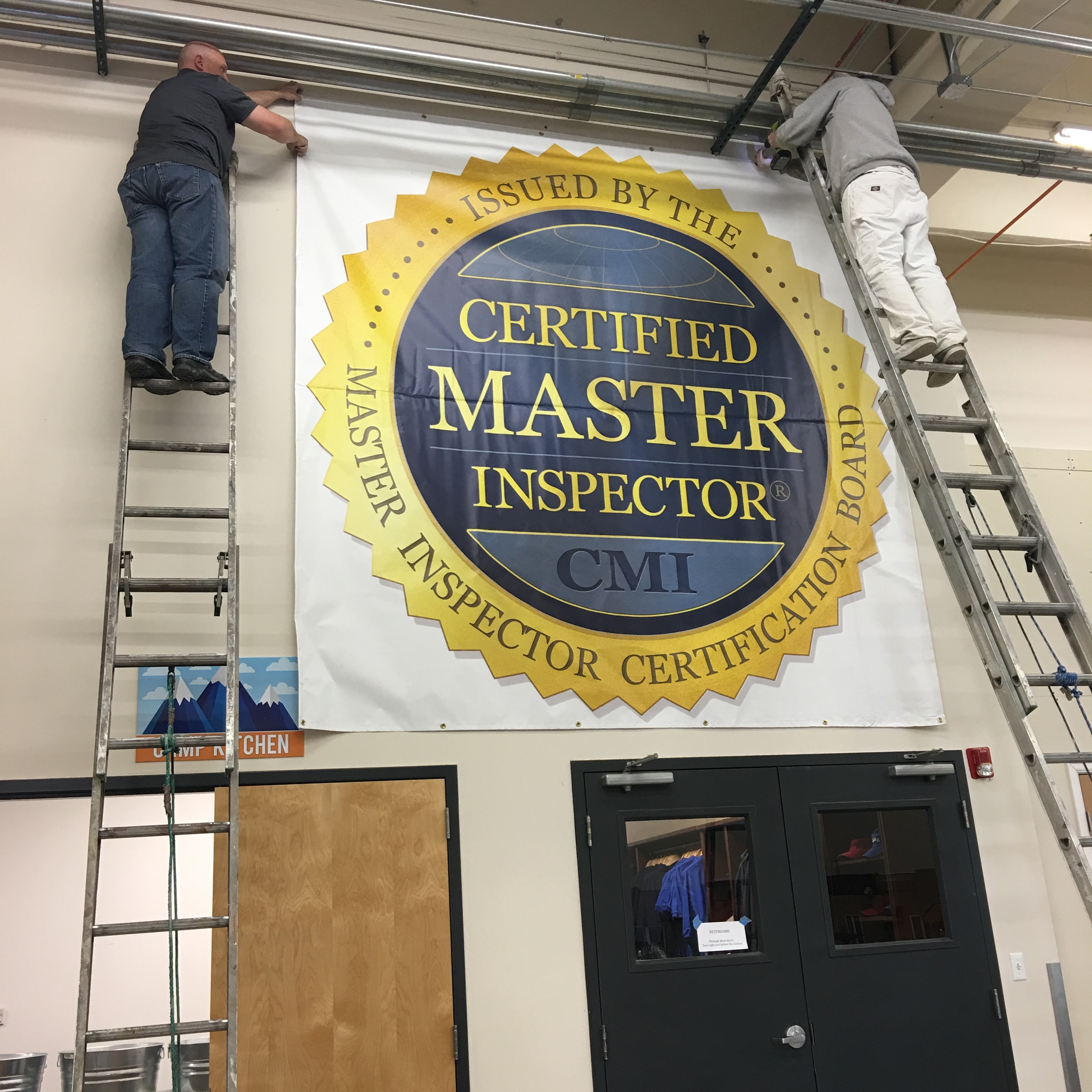 Largest banner in the inspection industry
